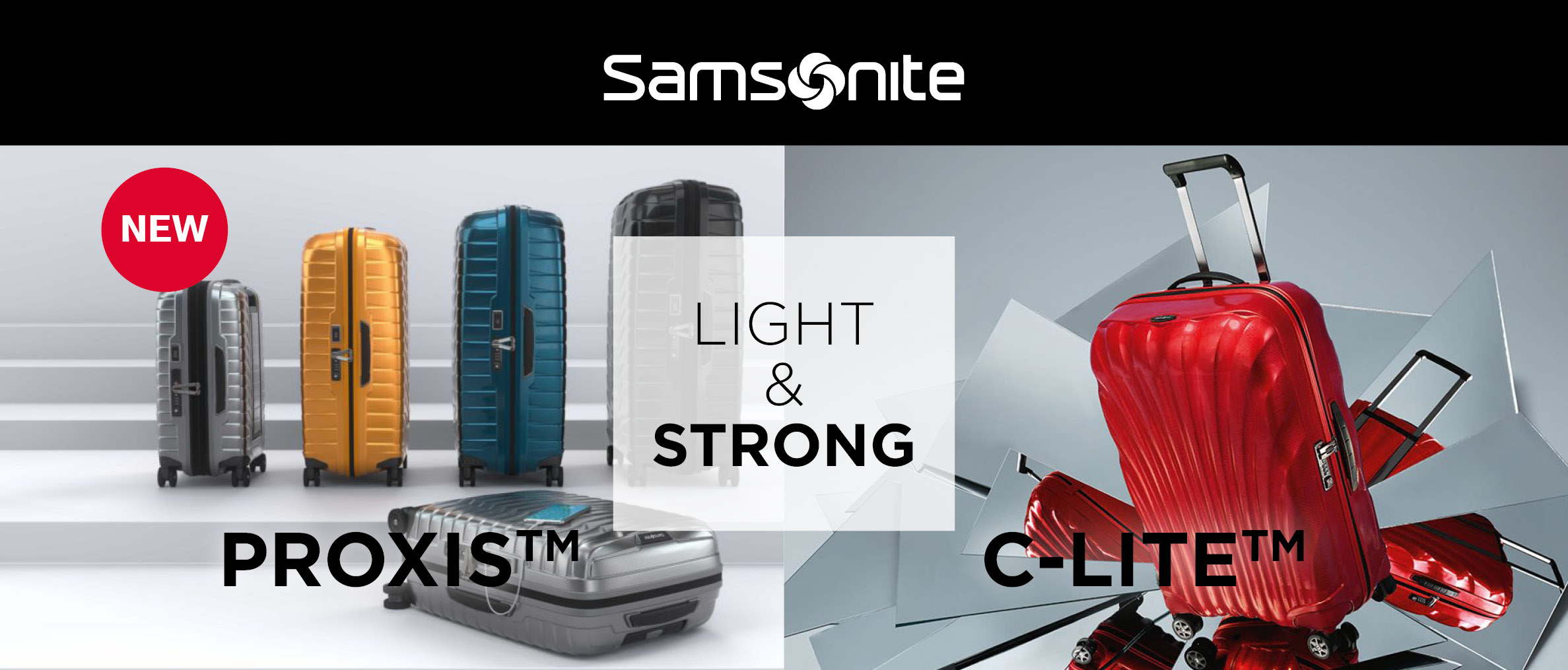 Samsonite Light & Strong